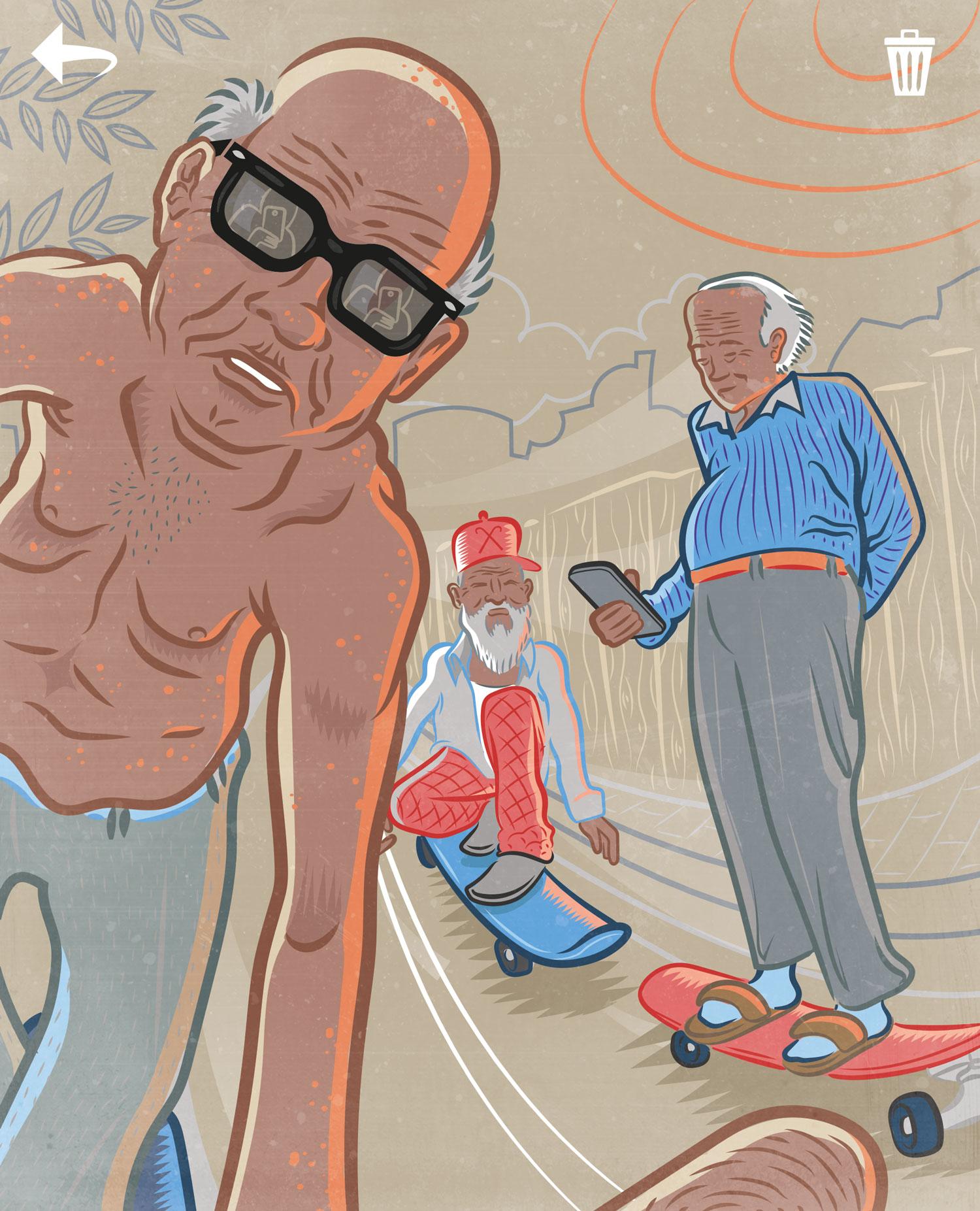 Ricky Booms Illustratie Clou 72 Vijftigplusser als marketingdoelgroep