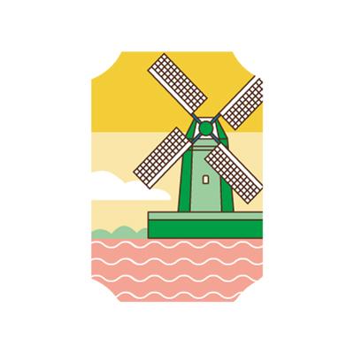 rickybooms-illustraties-Molen_Lineart-nieuw